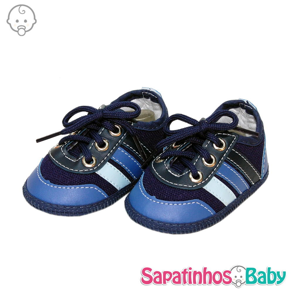 206fc156d Tênis Confort Azul - Ref.MTE0118 no Elo7 | Sapatinhos Baby (7336C9)
