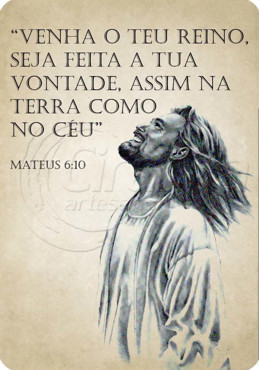 Placa Decorativa Jesus Cristo