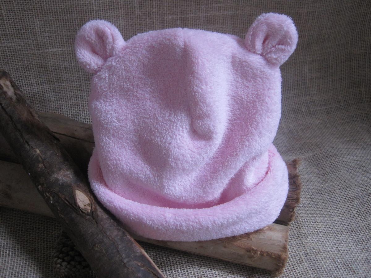 Zoom · Gorro orelha urso Soft rosa - 3M 9a2deeb5598