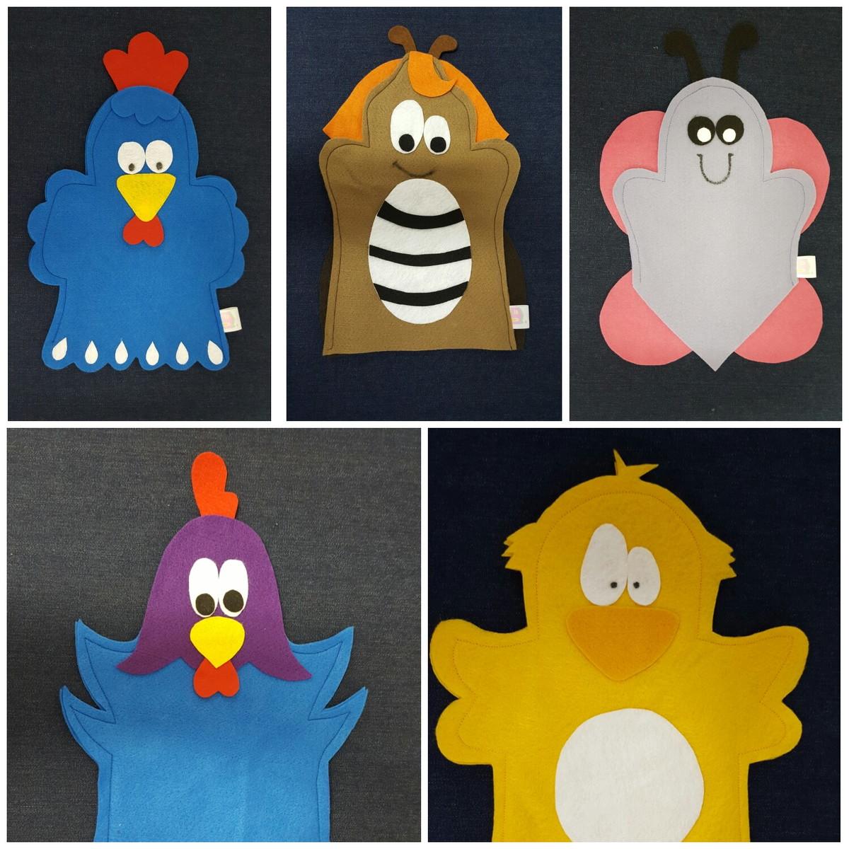 Zoom · Fantoche galinha pintadinha