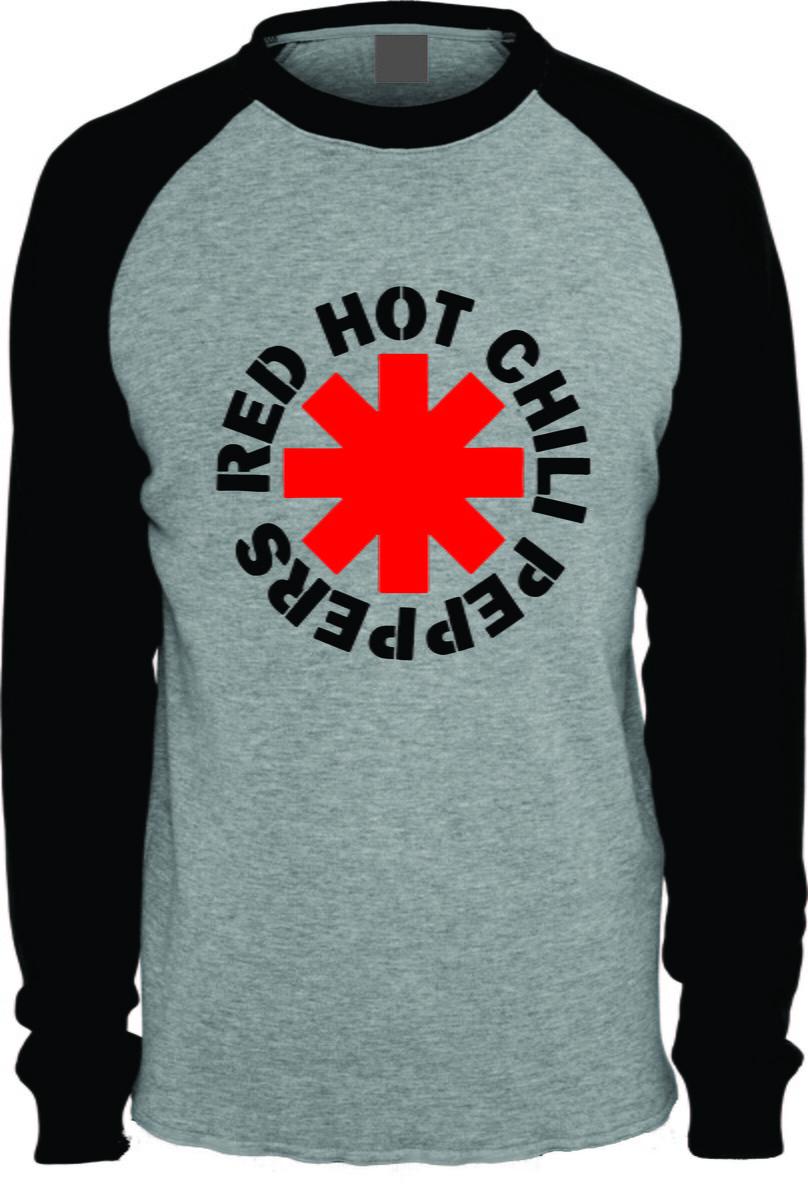 cf37f8331d Camiseta Red Hot Chilli Peppers Raglan no Elo7