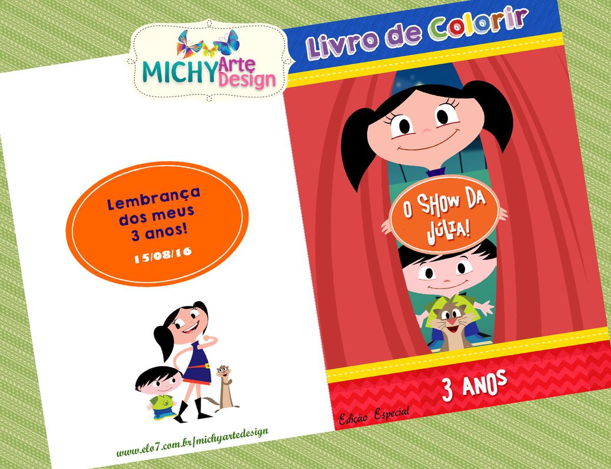 Mini Livro De Colorir O Show Da Luna No Elo7 Michy Arte Design