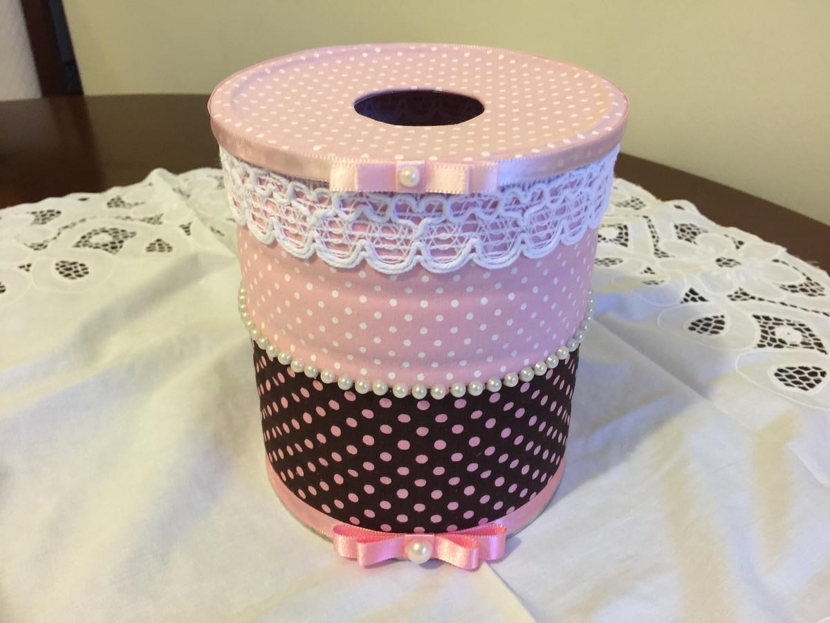 Porta papel higi nico no elo7 artesanato algod o doce for Colgadores para papel higienico