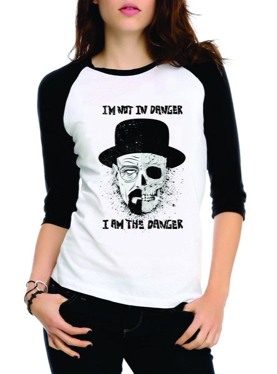 Camiseta Breaking Bad Raglan 3 4 no Elo7  0763b3de04df6