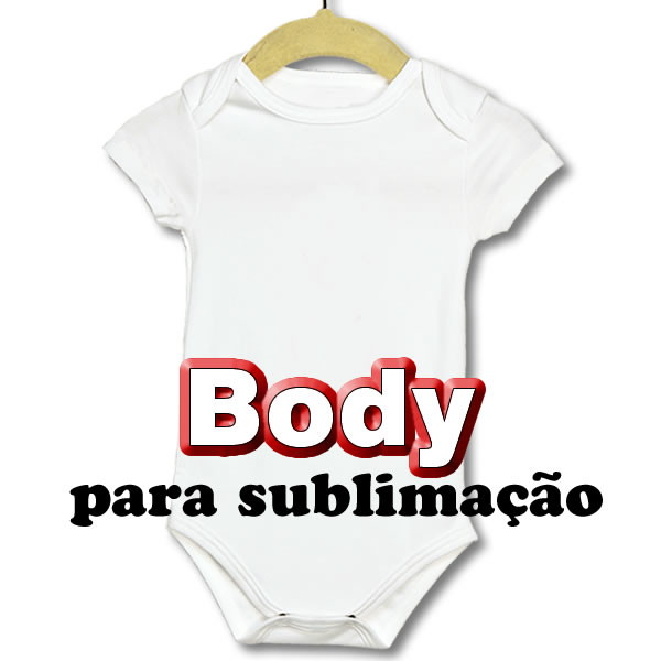 eff32c9e8 Body infantil liso para sublimação no Elo7 | Atacado de Camisetas ...