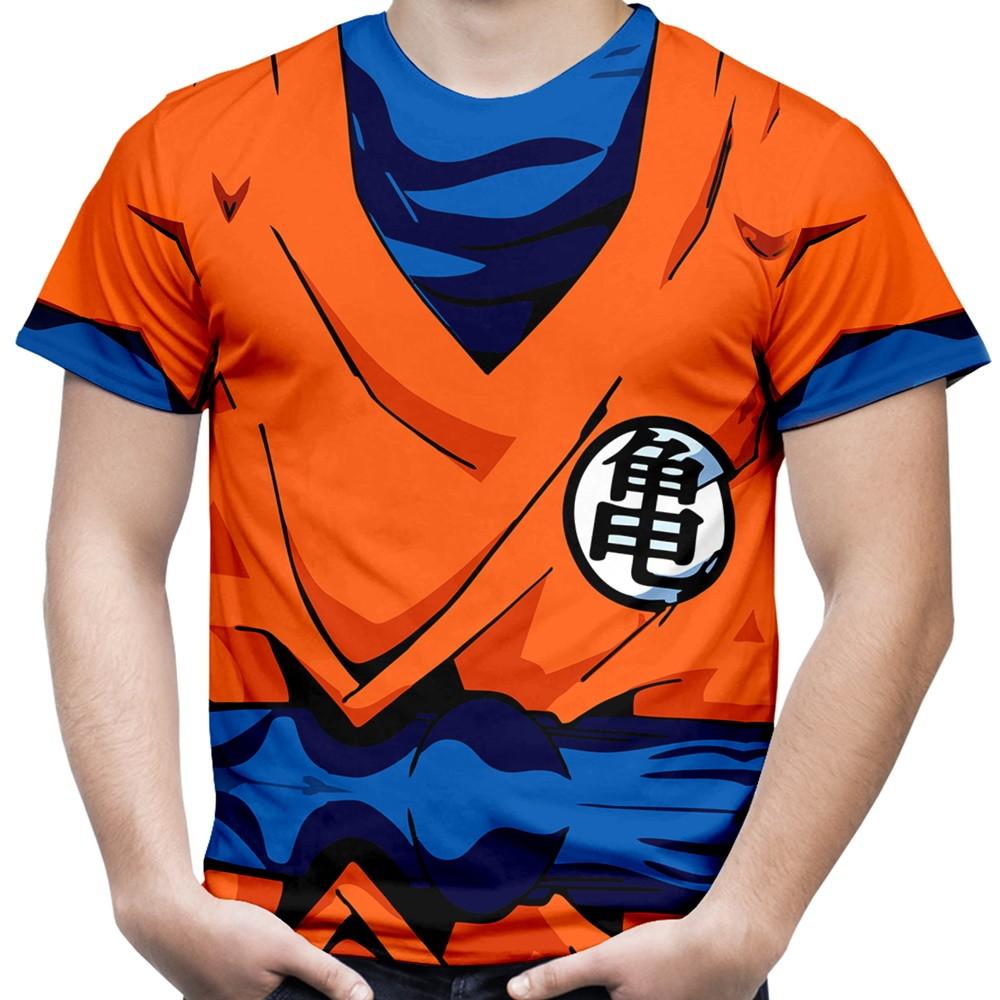 Camiseta Masculina Armadura Goku 08b7b22b521a3