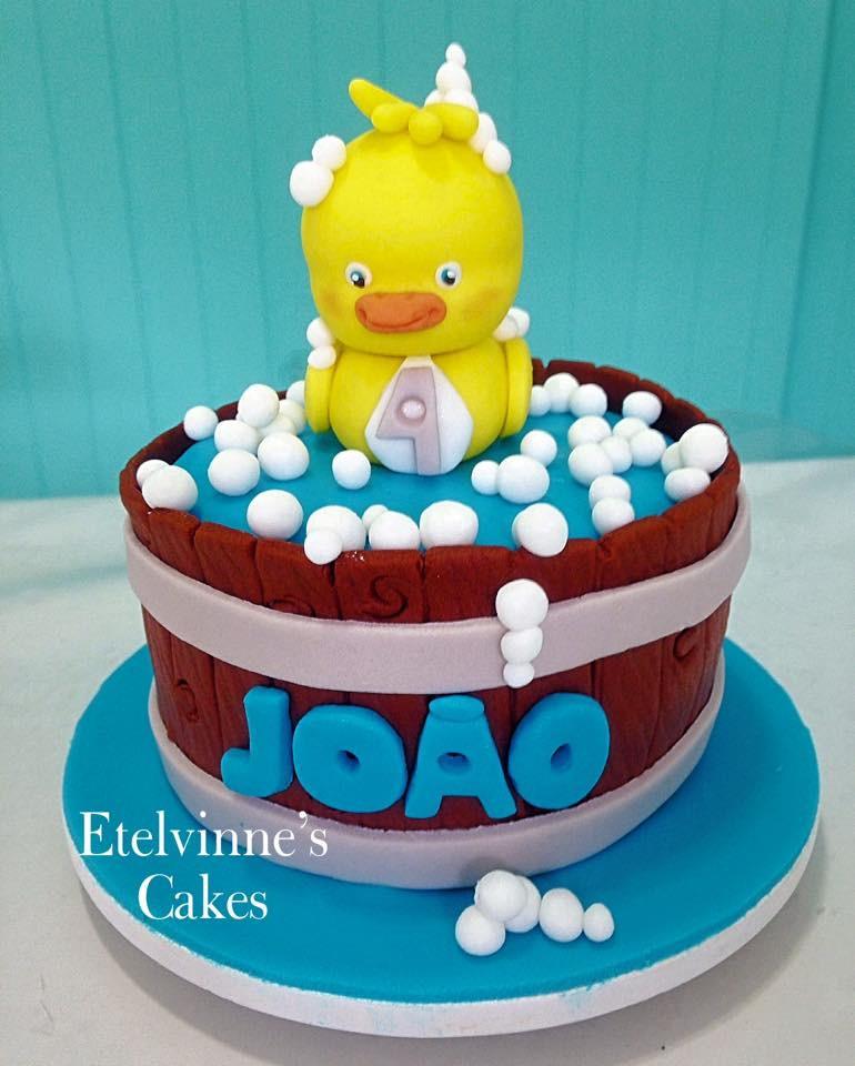 Populares BOLO PATINHO AMARELINHO no Elo7 | Etelvinnes Cakes (74C3C4) AC78