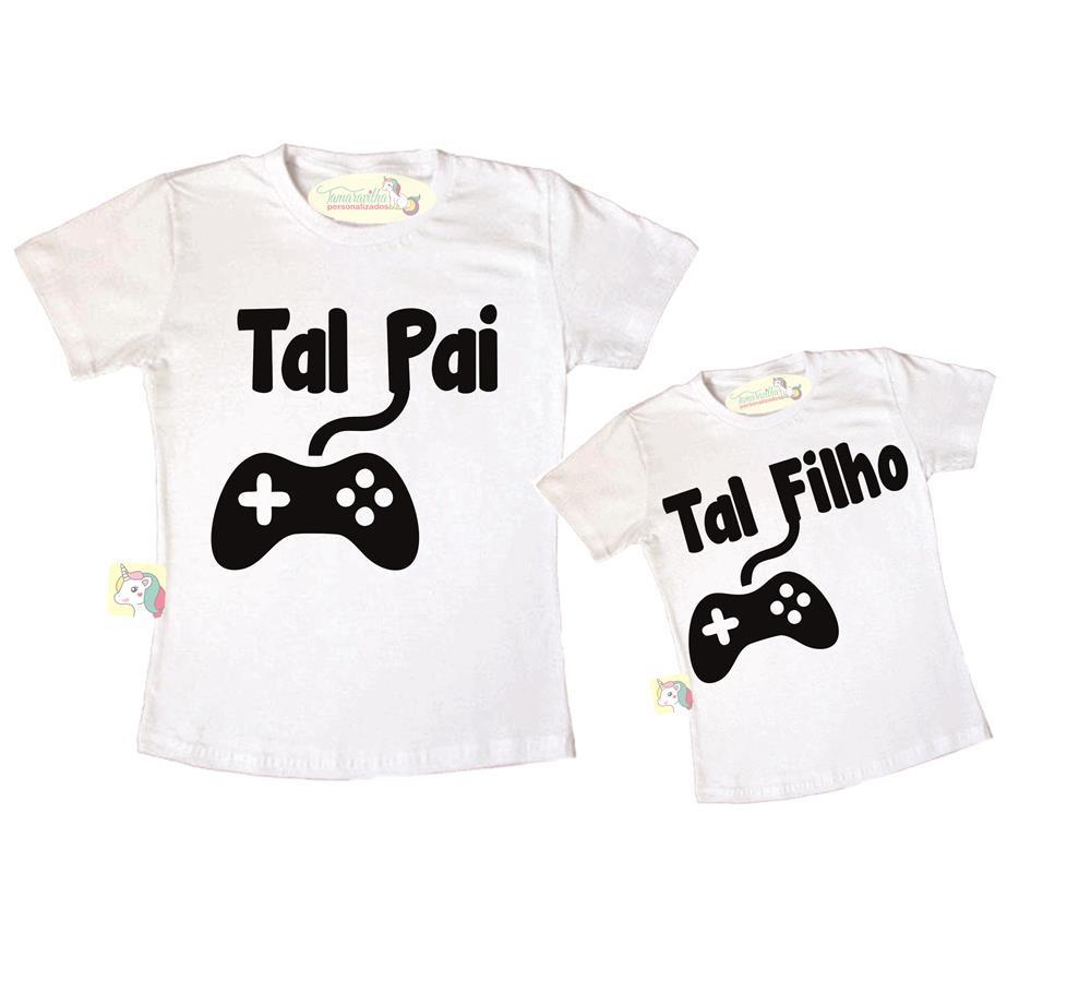 f334d8f5fb Kit pai e filho - Video game no Elo7