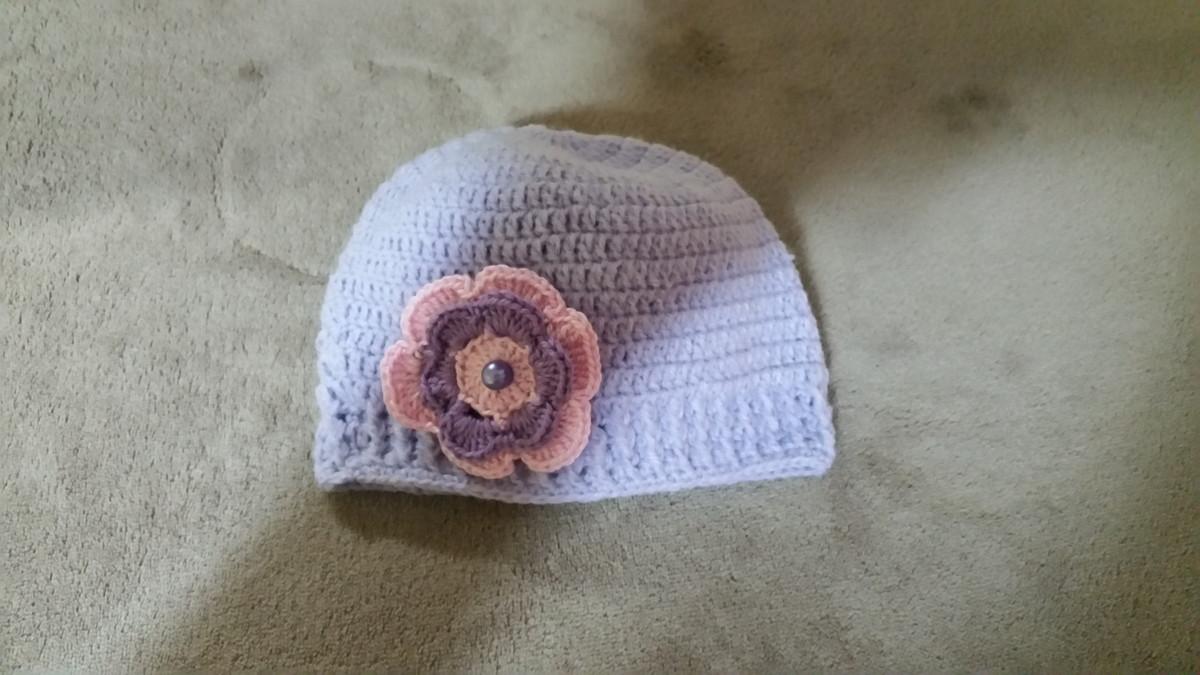 f0c734be2f853 Zoom · Gorro   Touca em lã para bebê