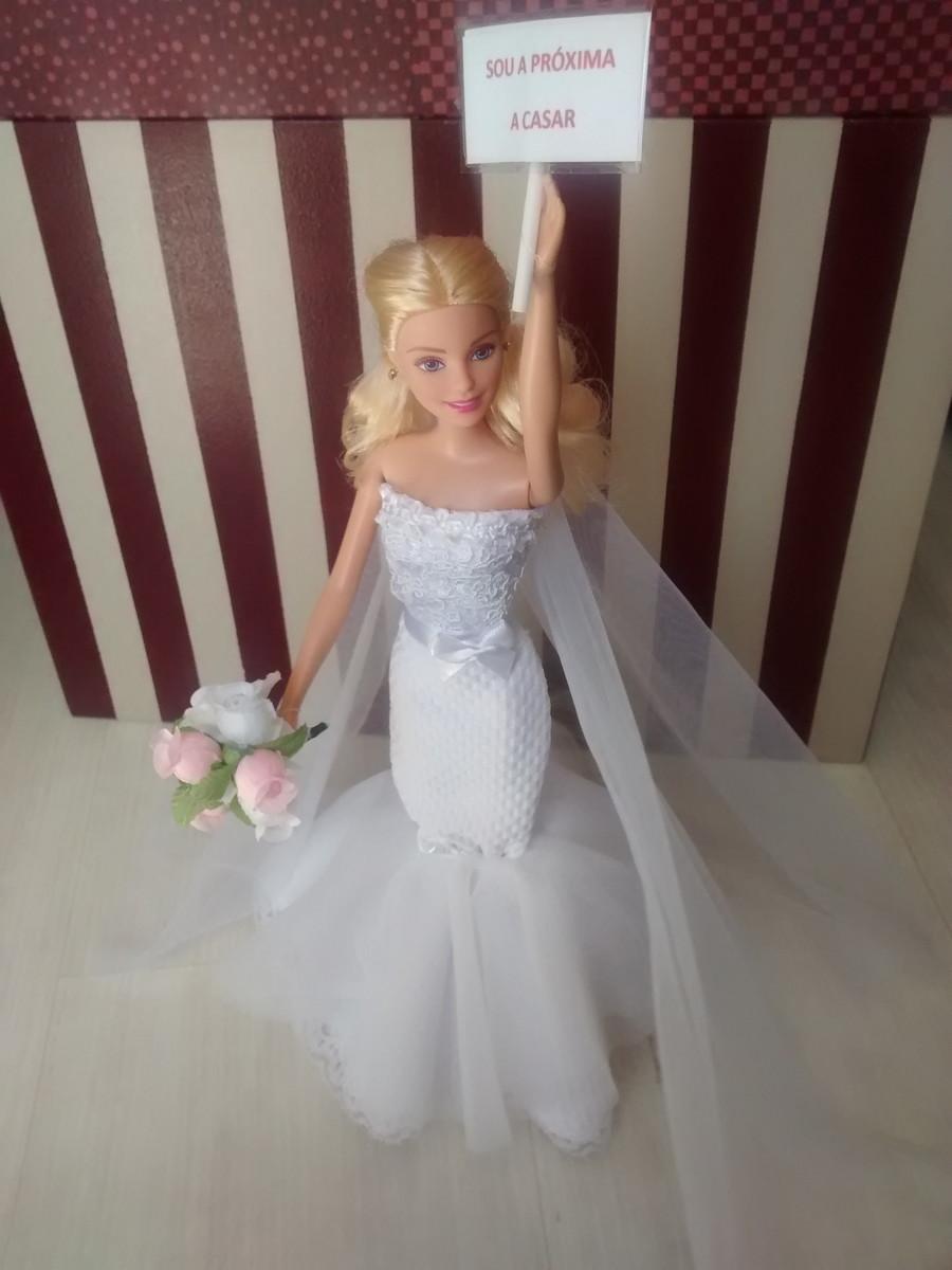 Barbie Noiva ~ Barbie Noiva Próxima a casar Luigi Fashion Dolls Elo7