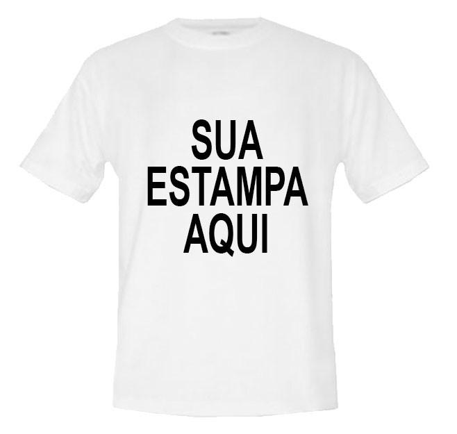Camiseta Branca Personalizada 2 Estampas no Elo7  3ad92a7101d