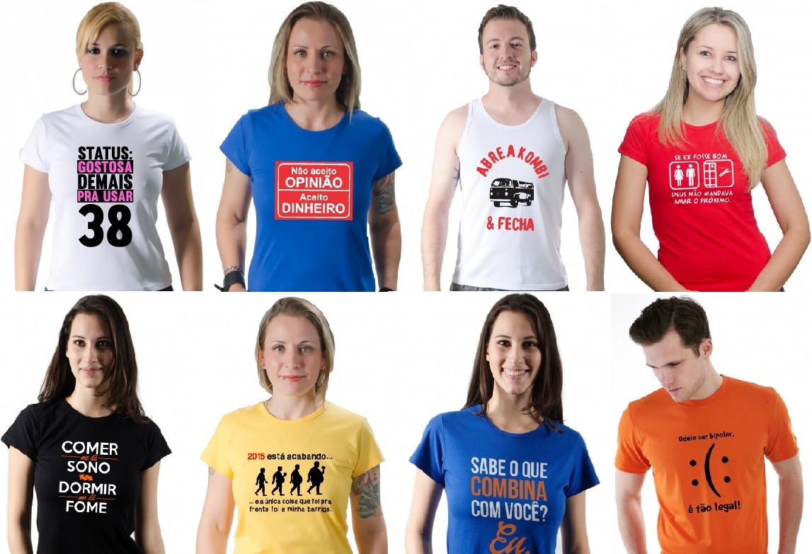 541a0e24b7 Camisetas Personalizadas Engraçadas no Elo7