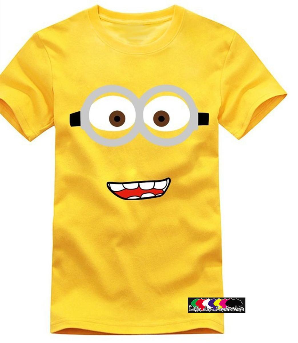Zoom · Camiseta Minions sorrindo camiseta-minions-sorrindo-camisetas -customisadas 7261d4fecc0