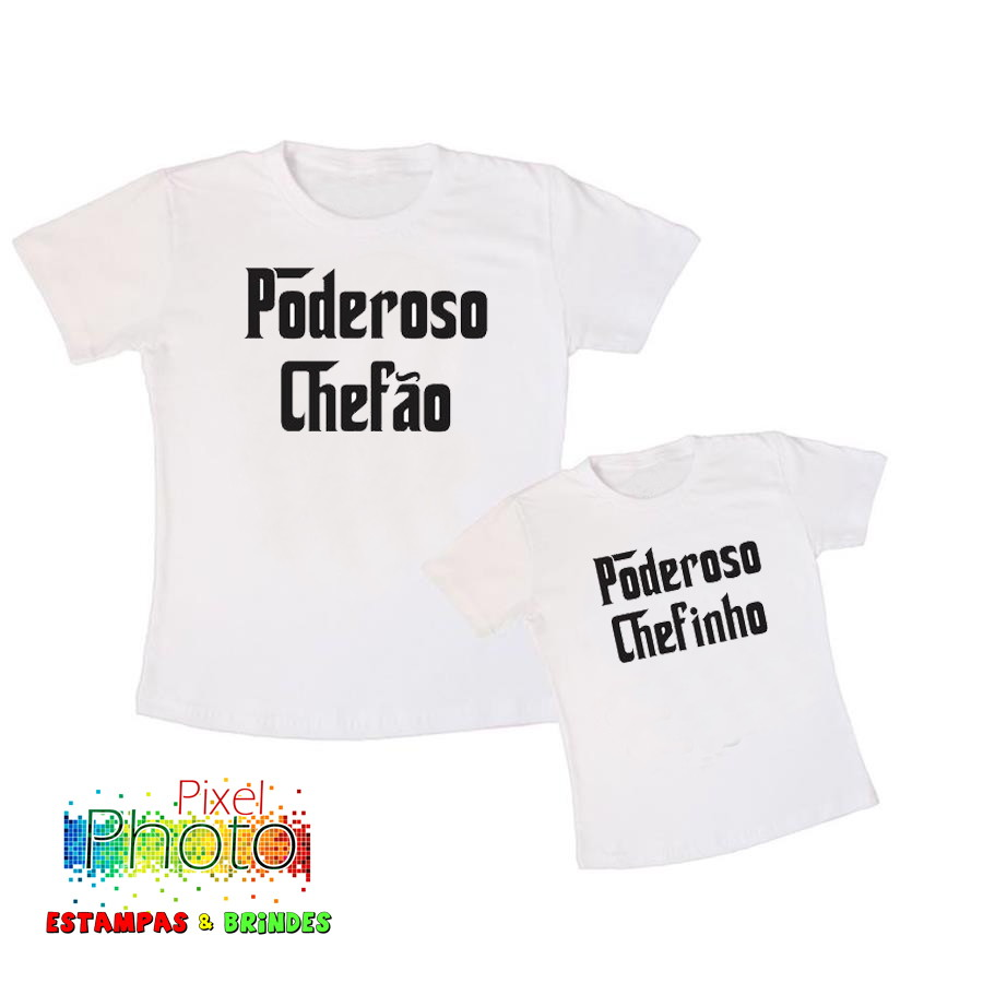 298c2cd9ccb2 KIT CAMISA TAL PAI TAL FILHO(A) no Elo7 | PIXEL PHOTO ESTAMPAS E ...