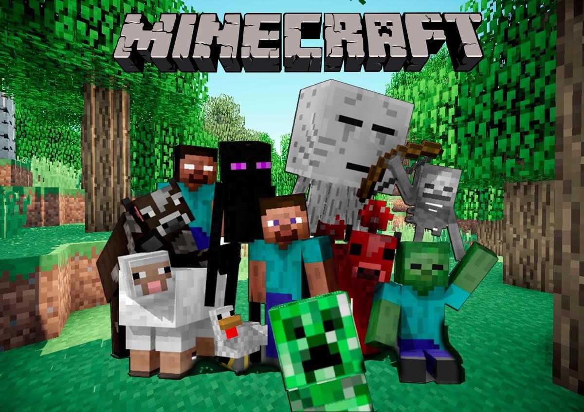 Minecraft e sua nova versão