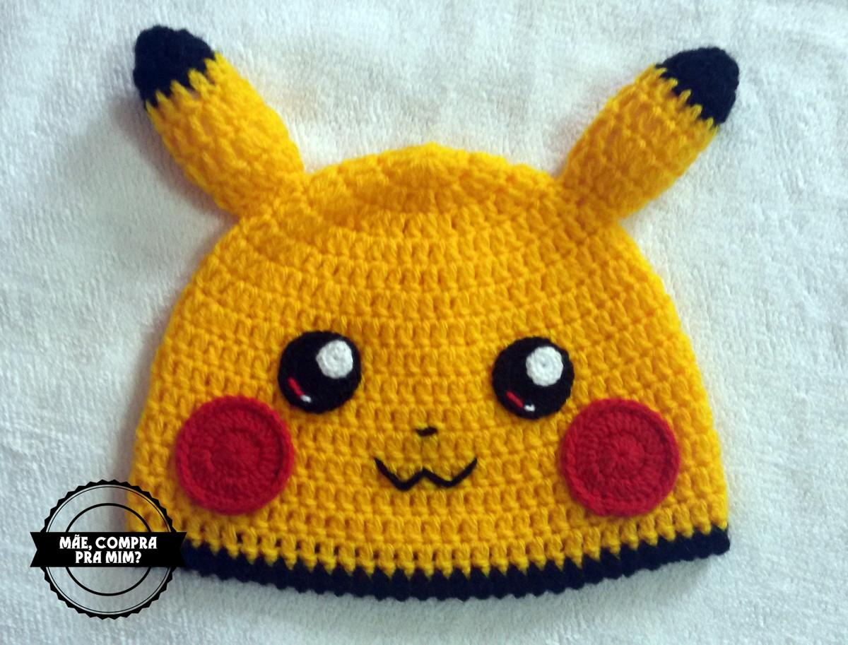 Touca Pikachu no Elo7  e4ce20ec3ac
