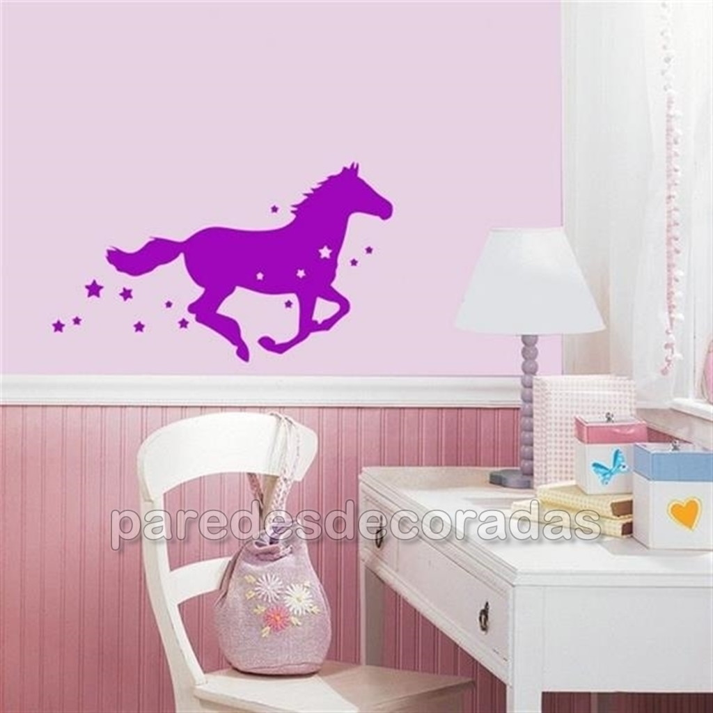 Adesivo Geladeira Inteira Mercado Livre ~ Adesivo de Parede Quarto Infantil Cavalo FRETE GRÁTIS até a sua casa!!!! Elo7