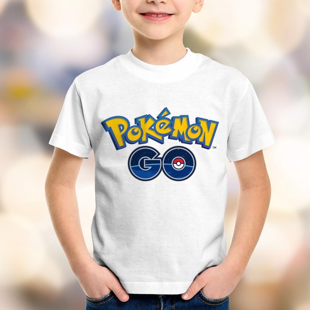 daee60615f Camiseta Pokemon Go Infantil no Elo7