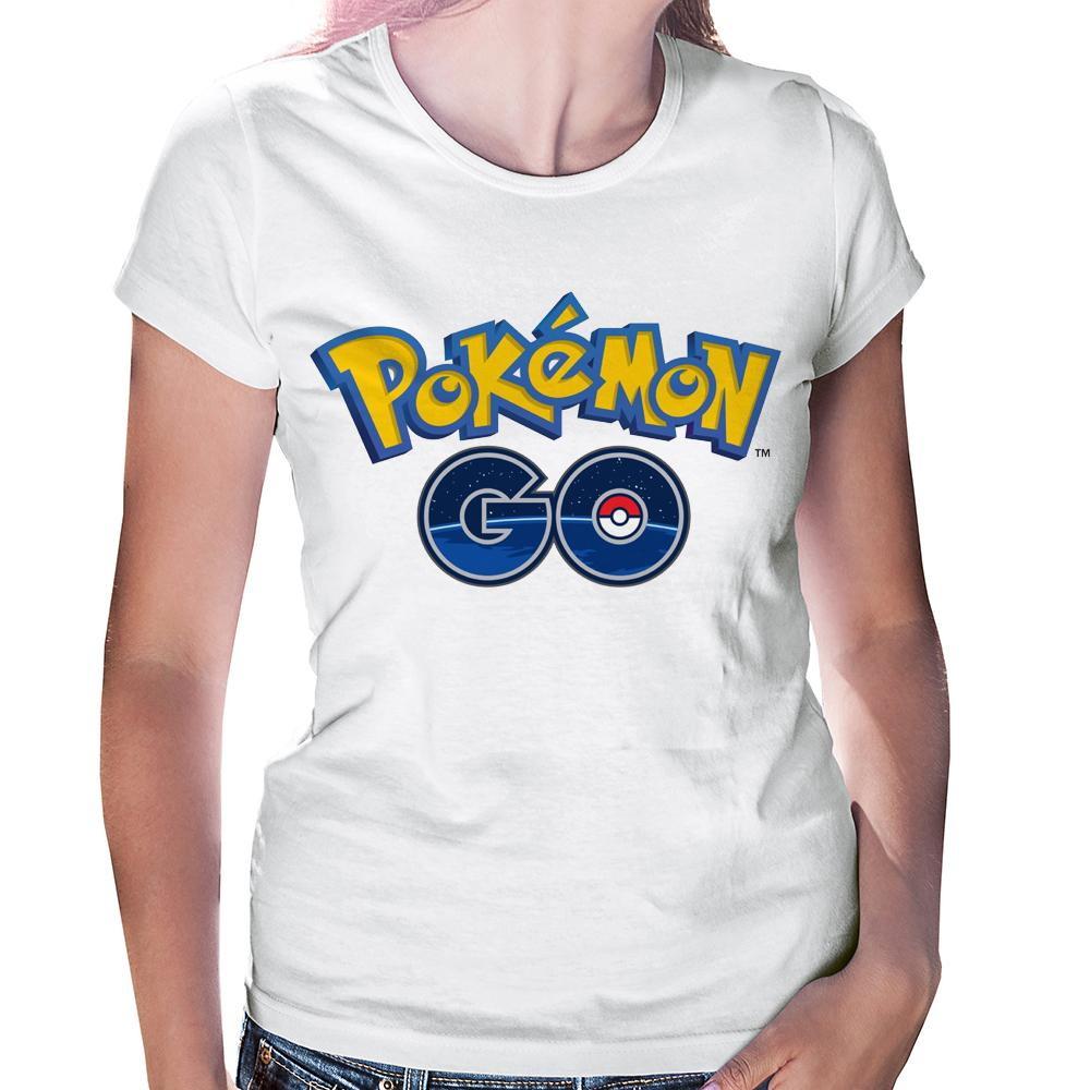 4c8fb7ca39 Camiseta Feminina Pokemon Go no Elo7