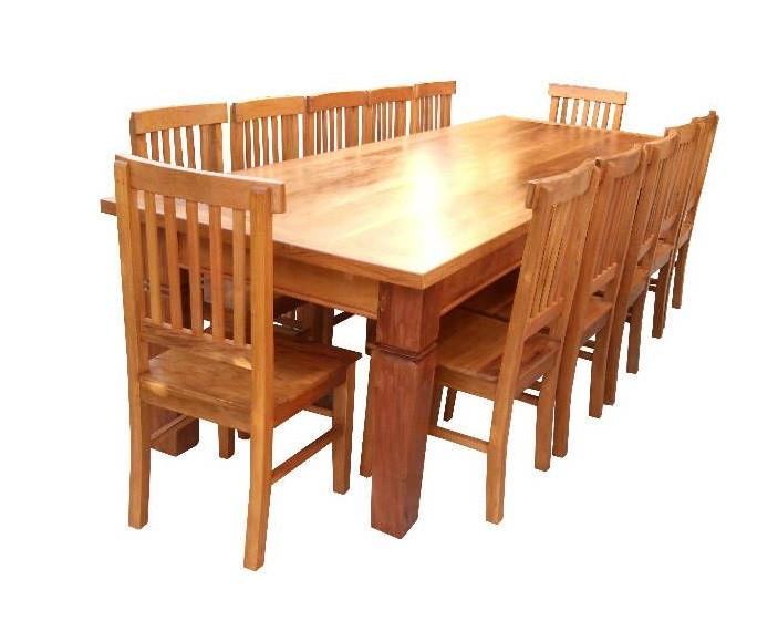 Jogo De Mesa Jantar 12 Cadeiras C 243 D 382 No Elo7