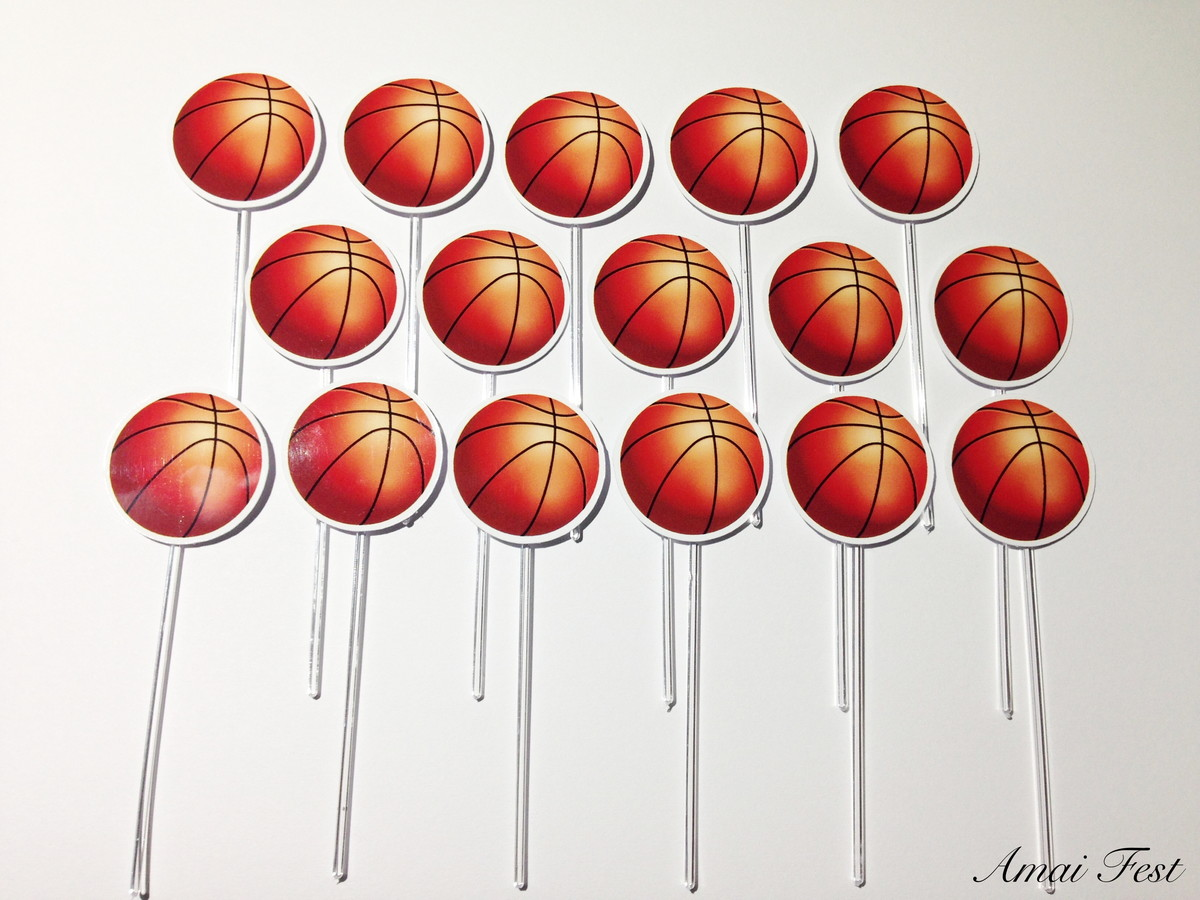 5ef8c378c07ab Topper- Bola de basquete no Elo7
