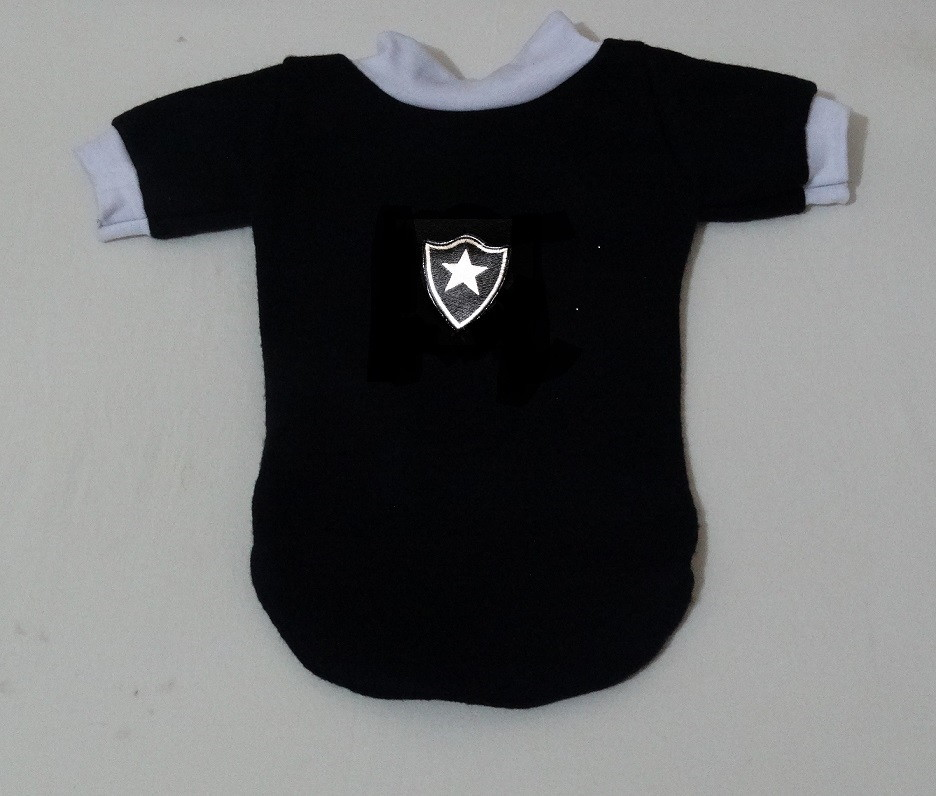 8e95458f66 BLUSINHA PET DO BOTAFOGO SOFT G e GG no Elo7