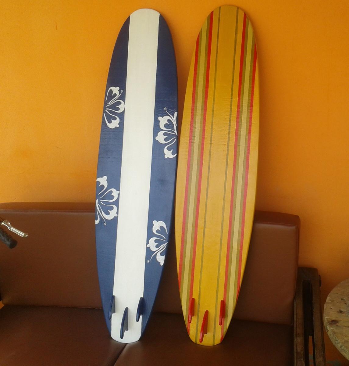 prancha surf decorativa 120 cm no elo7 efeito wood 789620