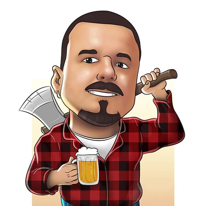 caricatura digital no elo7 feito pra mim 7091e6