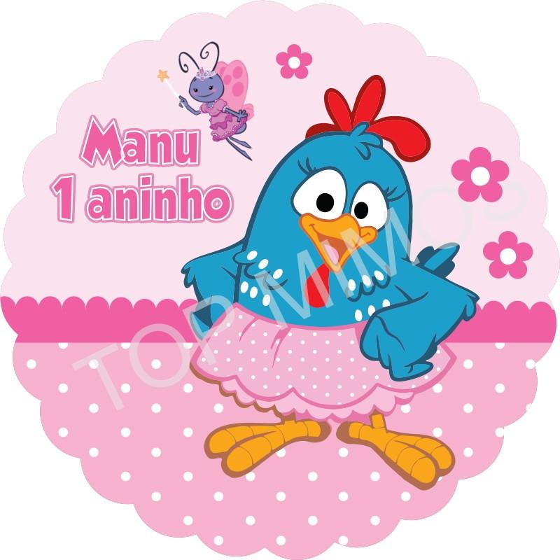 Tag E Adesivo Galinha Pintadinha Rosa No Elo7 Top Mimos 79035a