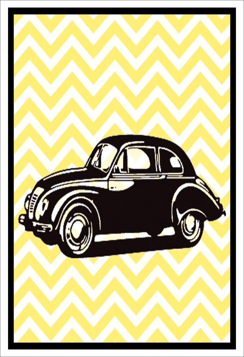 Poster Adesivo Fusca Vintage No Elo7 Crie Decore 791118