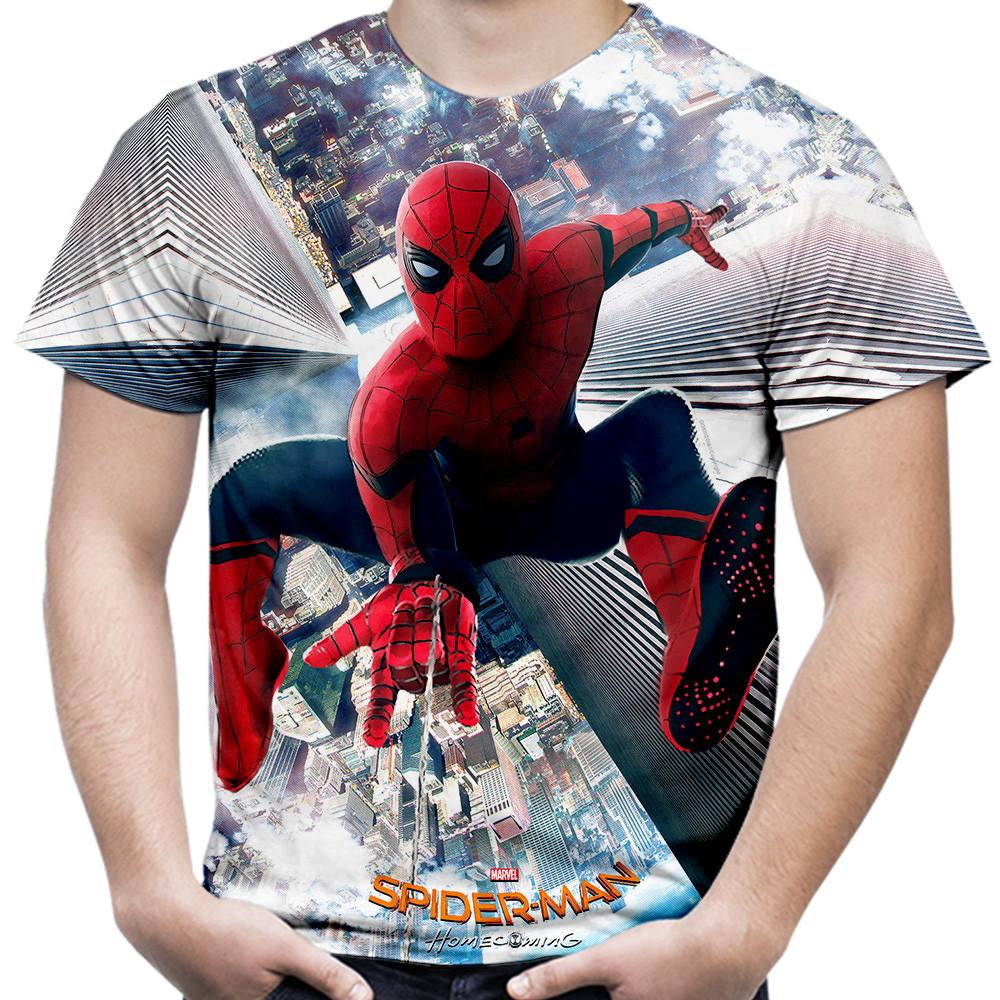 d64827dbb Camiseta Masculina Homem Aranha Mhc no Elo7