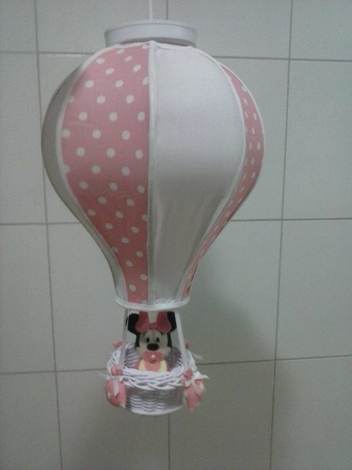 Zoom · lustre balão minnie
