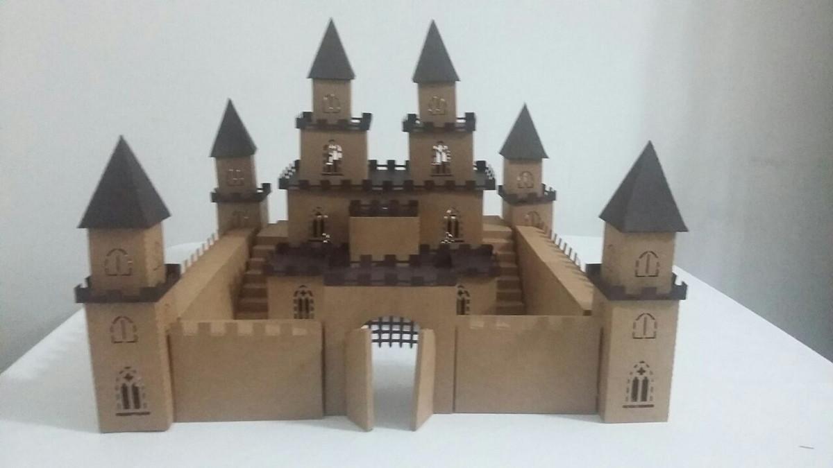 Castelo 3d Medieval No Elo7 Criando Idéias Lembrancinhas