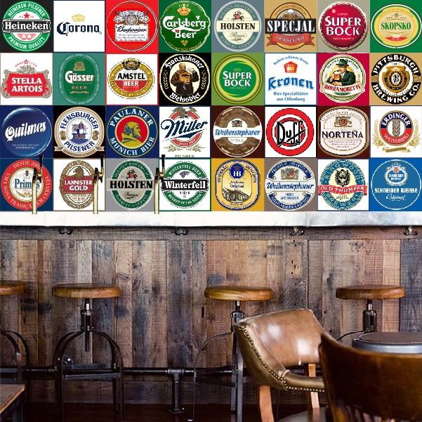 Adesivo azulejos cervejas importadas no elo7 colou for Marcas azulejos