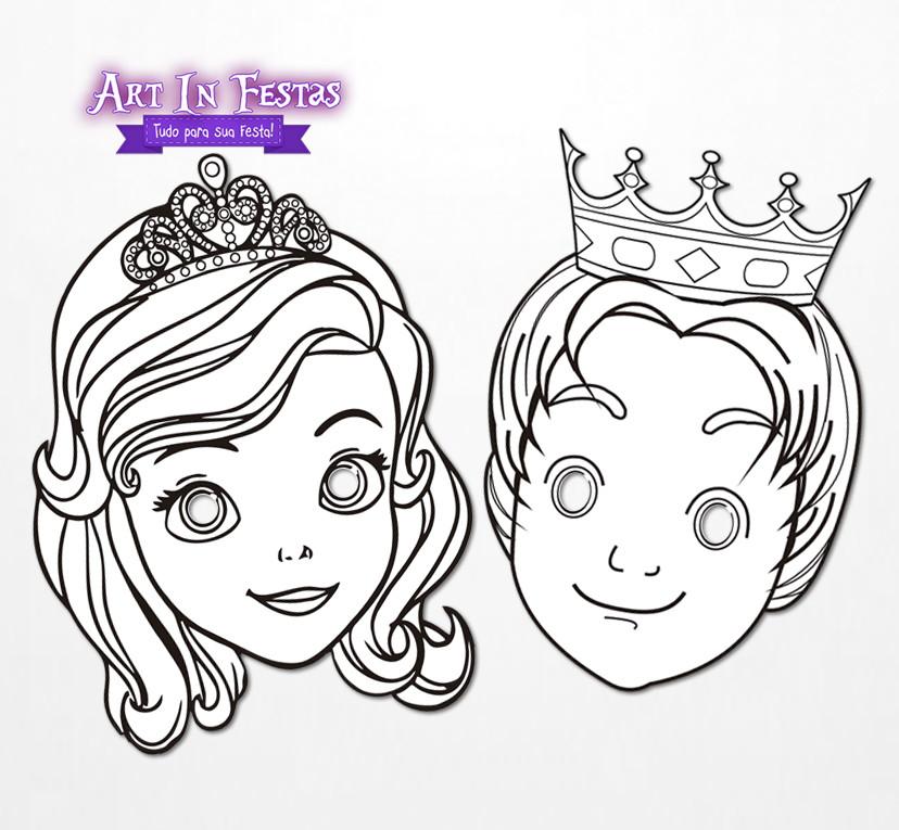 Unico Desenhos Para Imprimir E Colorir Princesa Sofia Melhores