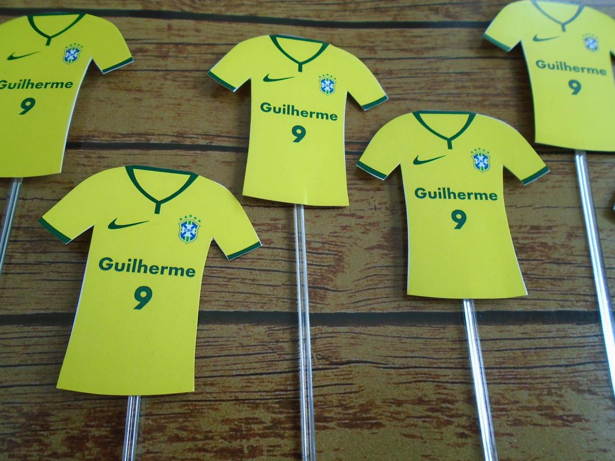 7e1fce99d7 Topper Doce - Camiseta futebol no Elo7