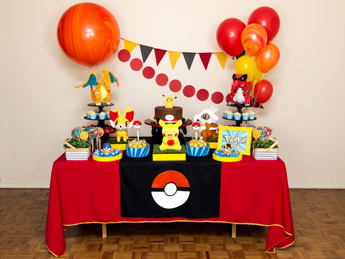 Aluguel decora o de festa pok mon no elo7 festeirice for Arreglo de sala de casa