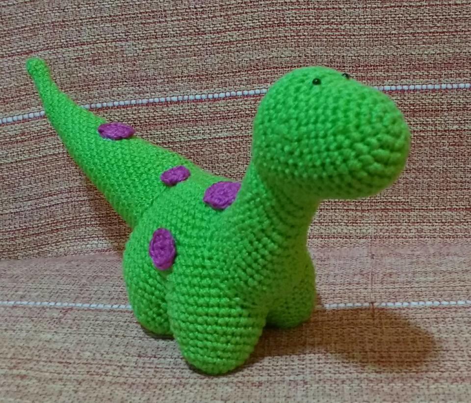 Amigurumi Dinossauro | 821x960