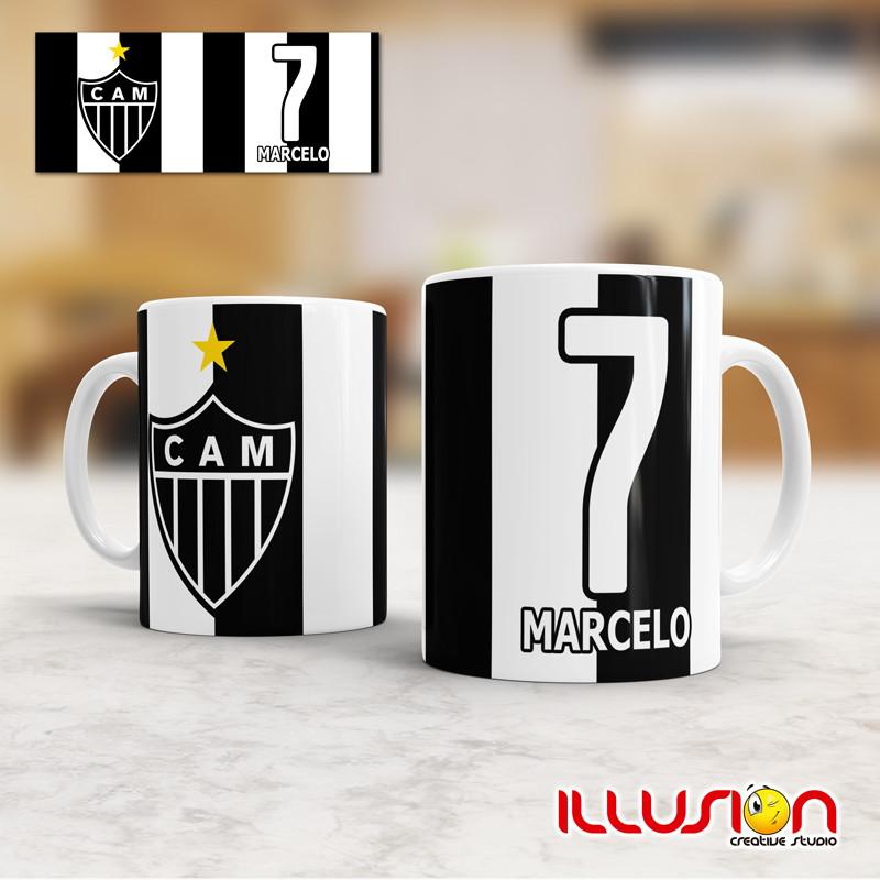 Caneca - Futebol - Atlético MG - 01 no Elo7  70721e53dfeb9
