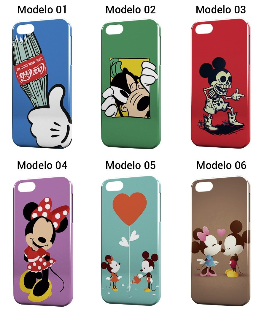Capa Capinha Celular Mickey Minnie Mouse no Elo7  b94799d0bc39d