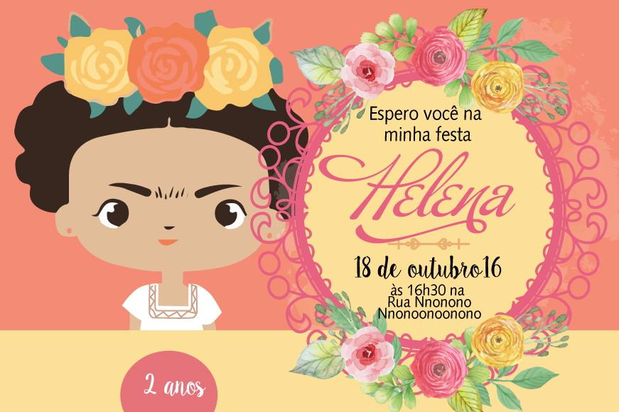 Convite ZAP (virtual) Frida Kahlo