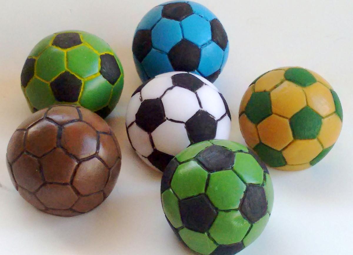 Lembrancinha Bola de futebol no Elo7  74efa241b1047