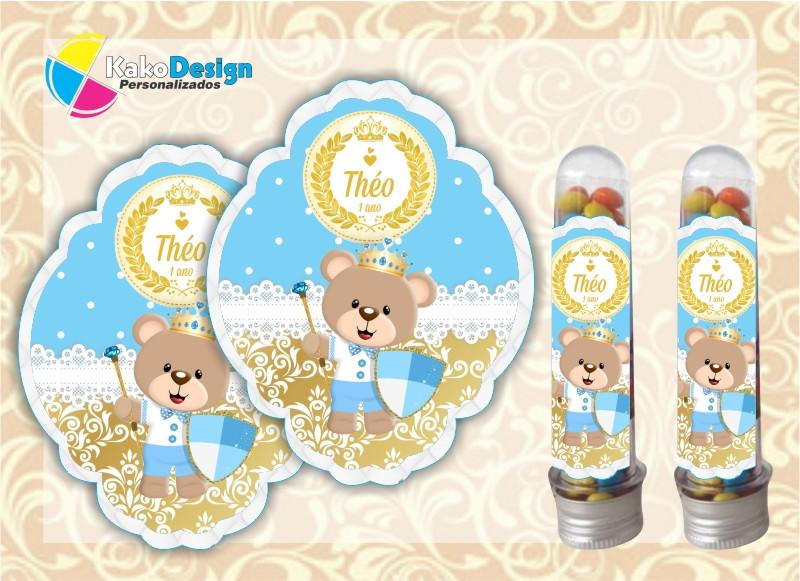 Armario Hemnes Amarillo ~ Adesivo para Tubete Urso Príncipe no Elo7 Kako Design Personalizados (7B2F94)
