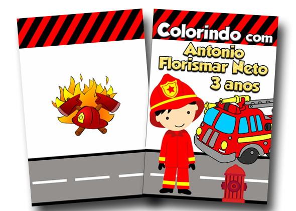Revista Colorir Bombeiro 14x10 No Elo7 Tudo De Festa Galvao 7b6aae