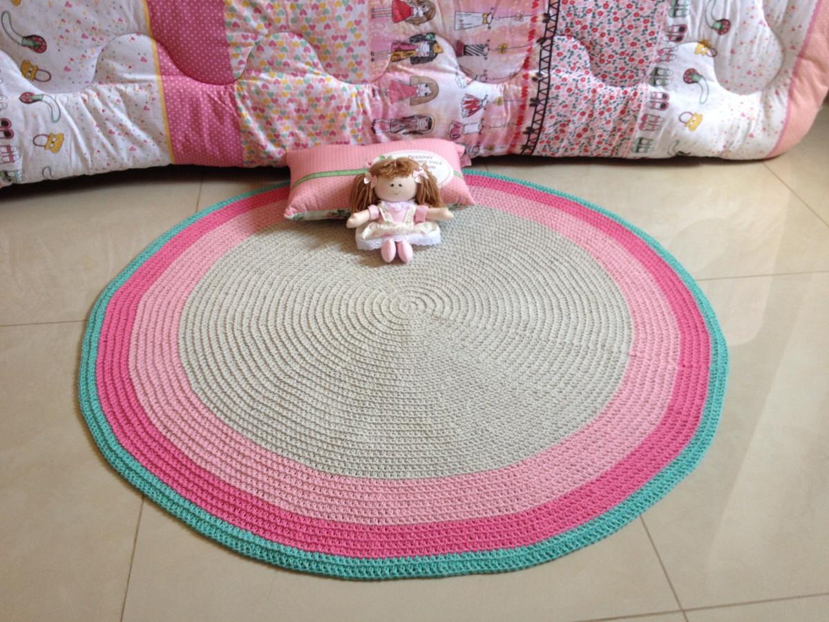 tapete de croch baby lara ateli vera peixoto elo7. Black Bedroom Furniture Sets. Home Design Ideas