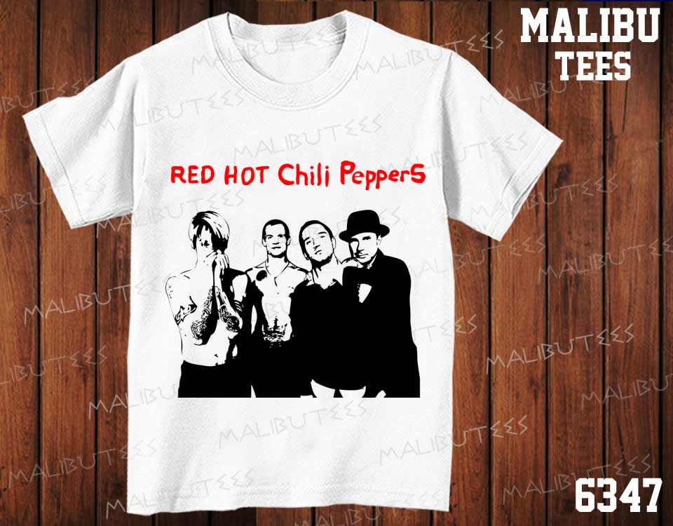 caed275405 Camiseta Red Hot Chili Peppers Rock no Elo7
