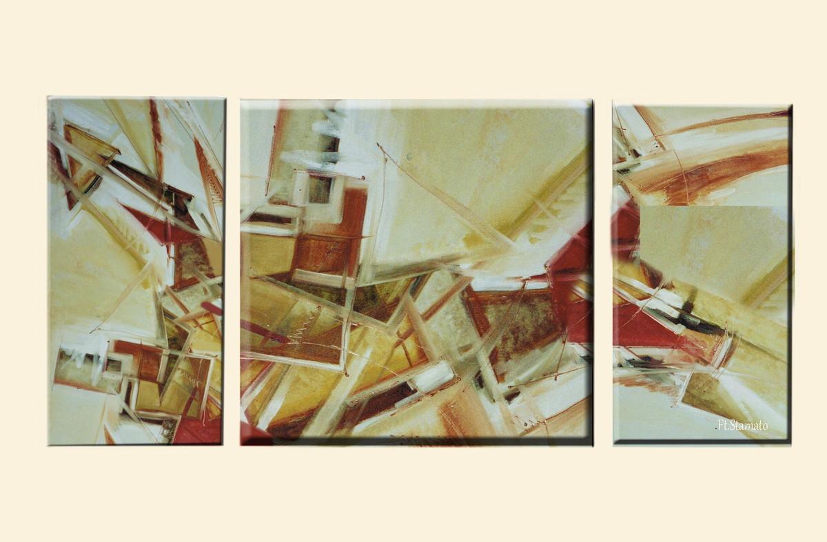 Quadros a oleo abstratos