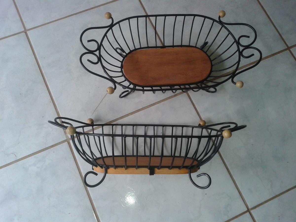 Armario Escritorio ~ fruteira de ferro e madeira serginho entalharte artesanato Elo7