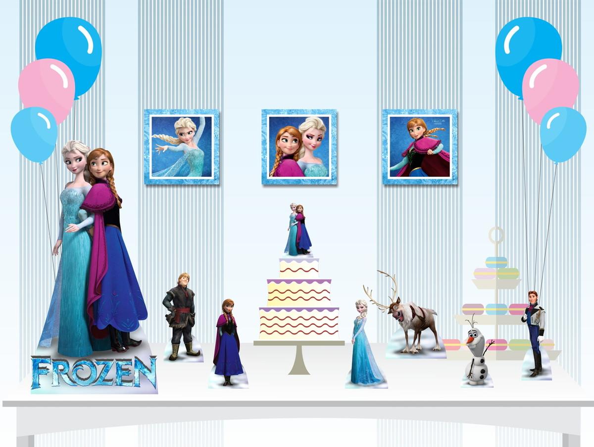 Kit Decoração Festa Infantil Frozen No Elo7 Painel ângela álvares