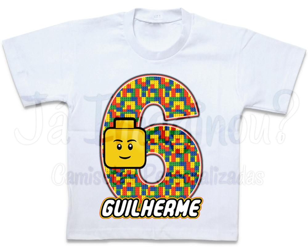 9df3075d29 Camiseta Lego no Elo7